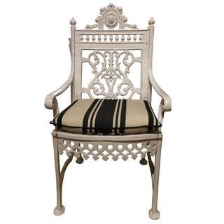 Antique Victorian Garden Chair