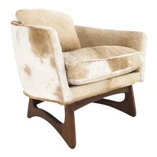 Adrian Pearsall for Craft Associates Lounge Chair in Brazilian Cowhide