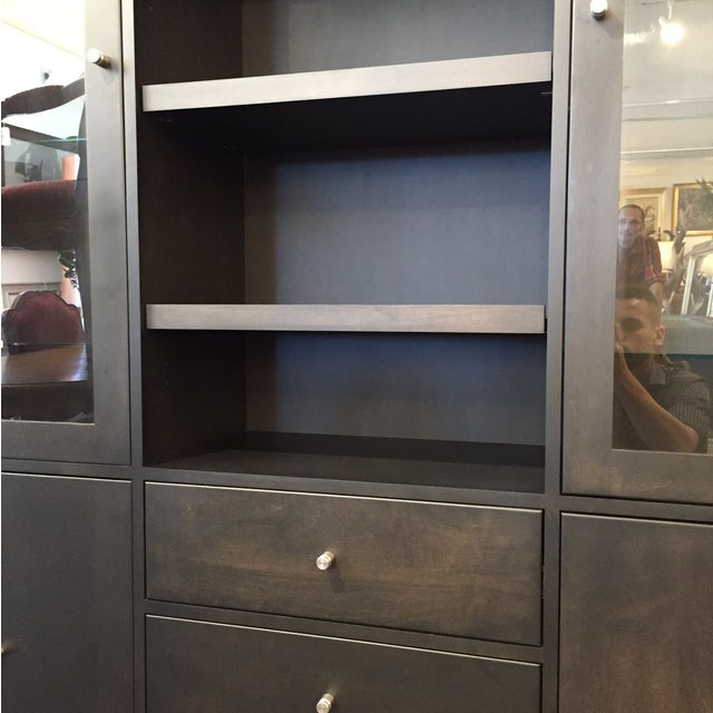Room & Board Linear Charcoal Custom Cabinetry - Image 4 of 9
