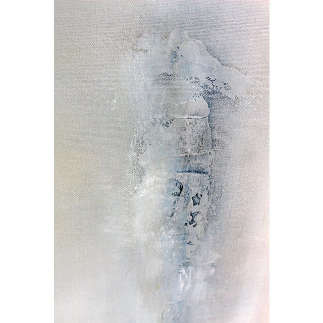 """Drifted"" Modern Textured Abstract Painting - Image 3 of 6"