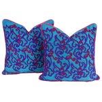 Nashmia Mathuravati Square Pillow, Pair