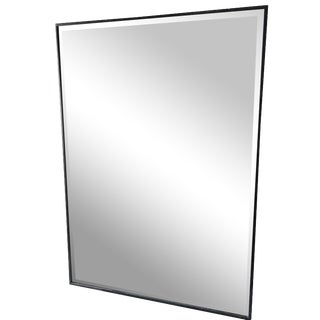 Beveled Mirror with Oil-Rubbed Bronze Frame