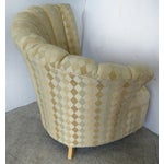 Image of Art Deco Revival Club Chairs - Pair