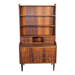 Danish Modern Rosewood Bookcase / Secretary (Mogens)
