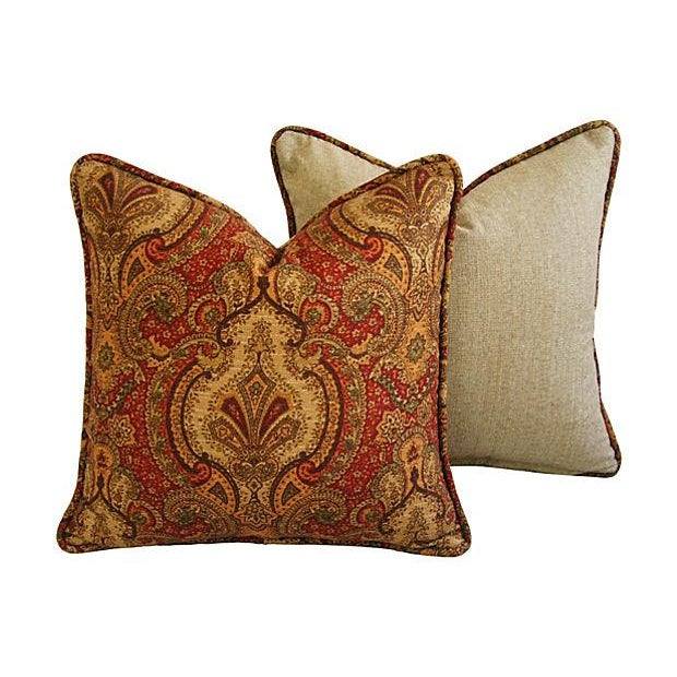 Raymond Waites Europa Pillows - A Pair - Image 5 of 8