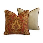 Image of Raymond Waites Europa Pillows - A Pair