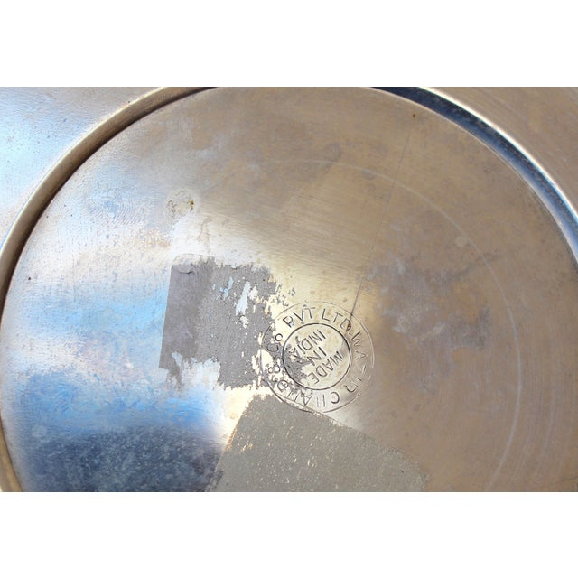 Silverplated Ice Bucket with Handles - Image 7 of 7