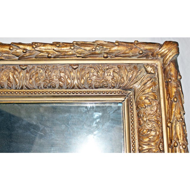 Antique Gilt Gesso Mirror - Image 4 of 7