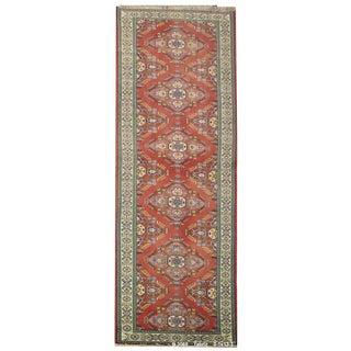 """Vintage Persian Tabriz Runner Rug - 3'1"""" x 13'1"""""""