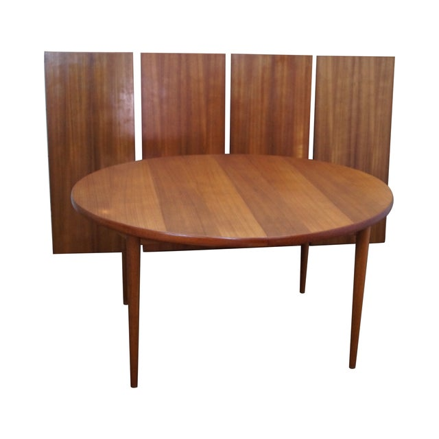 Image of Moreddi Danish Modern Teak Extension Dining Table