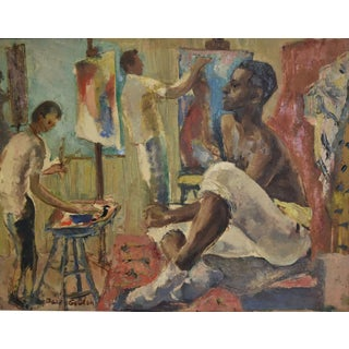 "Bacia Gordon ""The Art Studio"" Painting"