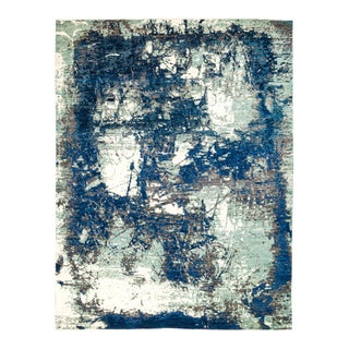 """Eclectic Hand Knotted Area Rug - 8' 2"""" X 10' 6"""""""