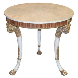 Italian Neoclassical Occasional Table