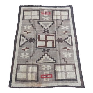 "Antique Navajo Rug - 2'8""x4'9"""
