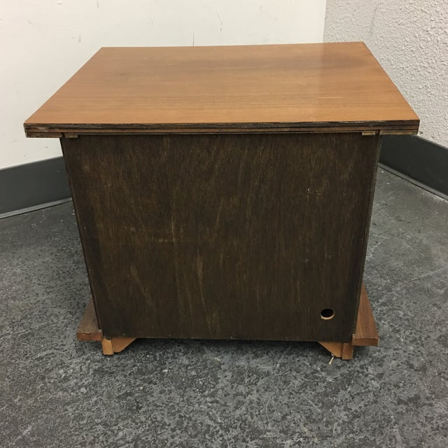 Vintage Michael Taylor Side Table/Nightstand - Image 4 of 7
