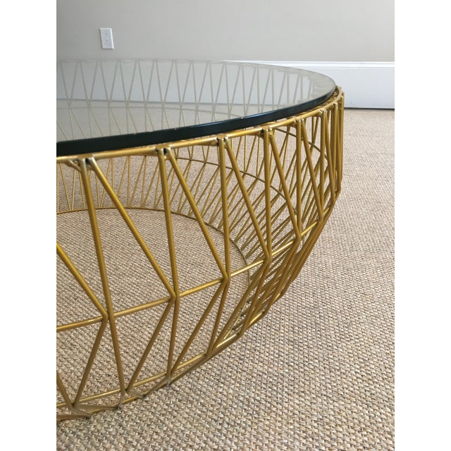 Bend Goods Wire Coffee Table - Image 3 of 3