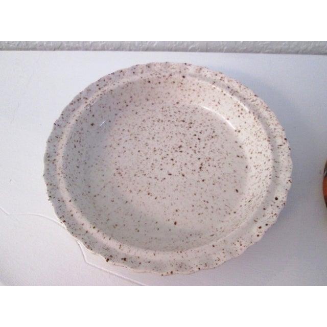 Vintage Ceramic Lidded Pumpkin Pie Dish - Image 6 of 7