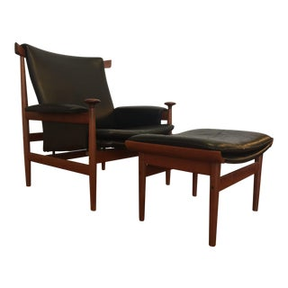 Finn Juhl Bwana Chair & Ottoman