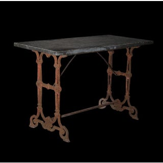 Antique Cast Iron Garden Table