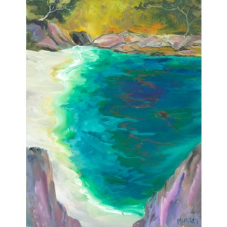 China Cove, Point Lobos Painting