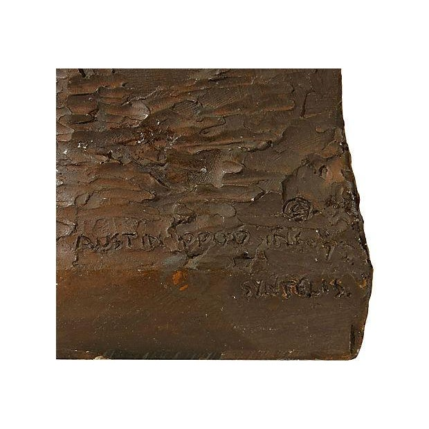 Image of 1970's Bronze Signed Sculpture