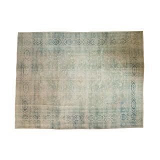 "Vintage Distressed Meshed Carpet -9'1"" x 11'1"""