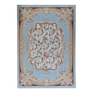 "Pasargad Aubusson Hand Woven Wool Rug - 10' 1"" X 14' 3"""