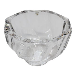 Small Orrefors Octagon Bowl