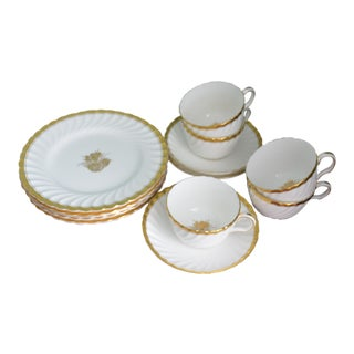 Minton Plates, Cups & Saucers - 13 Pieces
