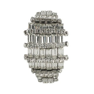 1950's Vintage Eisenberg Rhinestone Bracelet