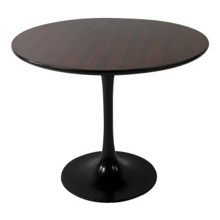 Knoll Style 1960s Rosewood Tulip Table