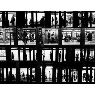 """Subway Voyeur"", New York City, 2015"