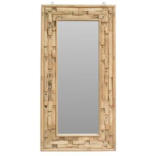 Sarreid LTD Rustic Elm & Pine Mirror
