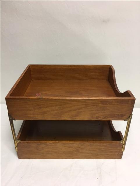 Industrial Weis Wooden Desk File Chairish