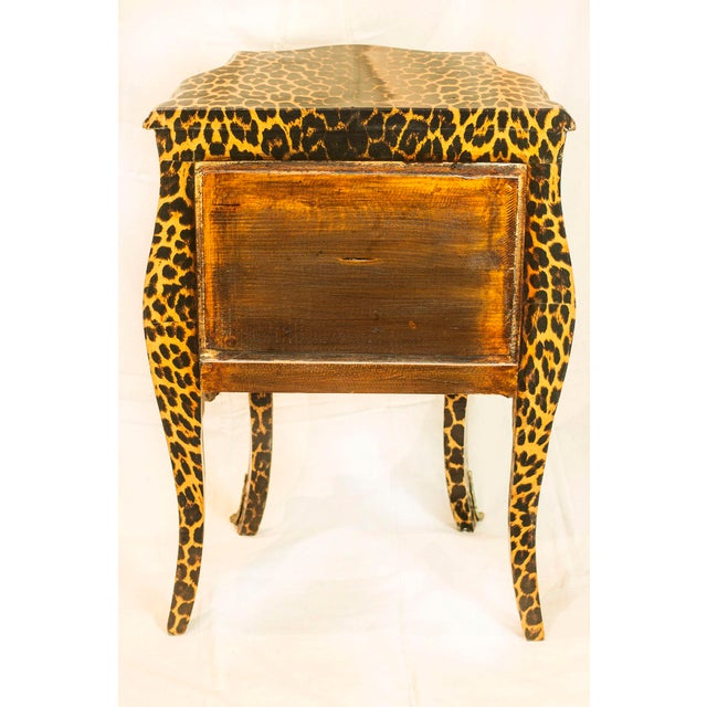 1920s Leopard Patterned Commode - Image 5 of 5
