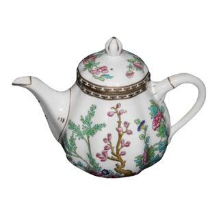 Indian Tree China Teapot