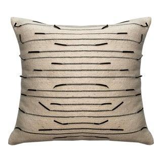 Ziya Wool & Leather Pillow