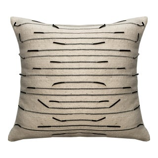 Ziya Wool & Leather Pillow