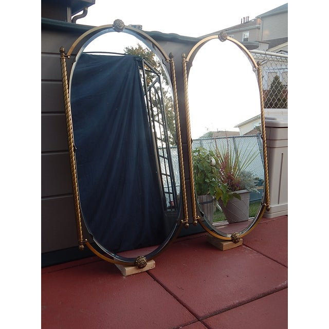 Image of Vintage Italian Renaissance Influenced Mirrors - 2