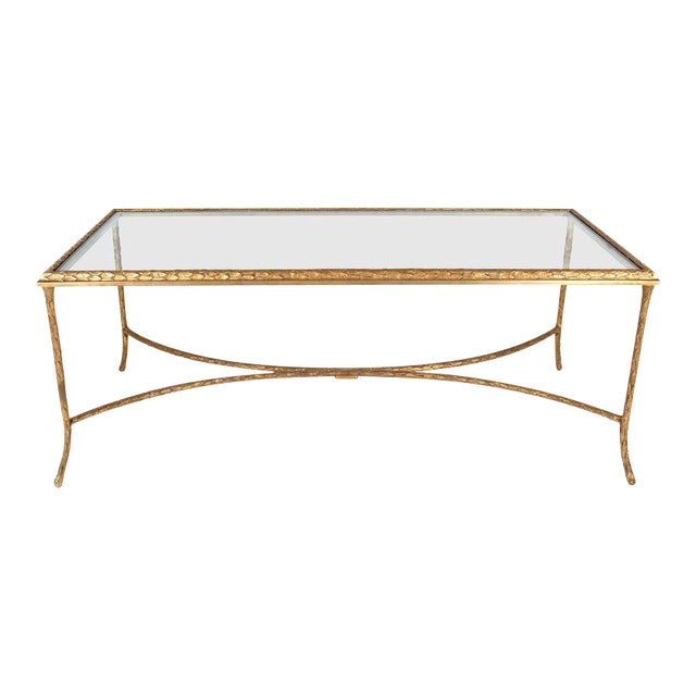 French Gilt Bronze Cocktail Table in the Style of Maison Baguès, circa 1950s - Image 1 of 7