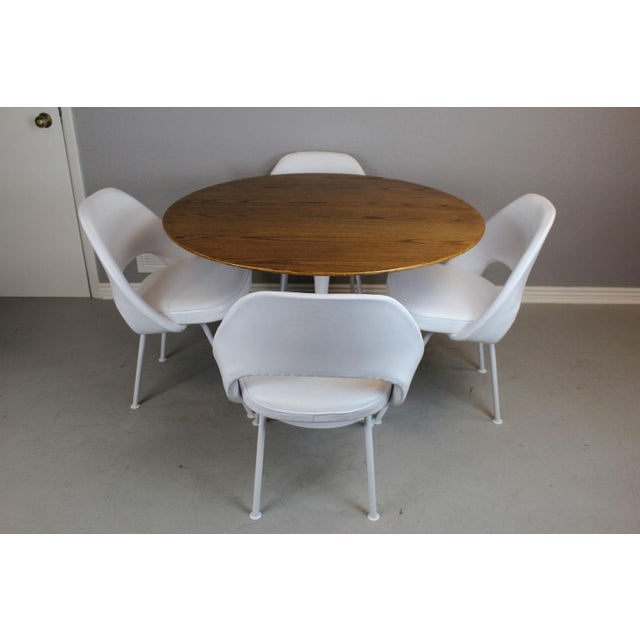 Eero Saarinen for Knoll Dining Table & Chairs -S/5 - Image 2 of 11