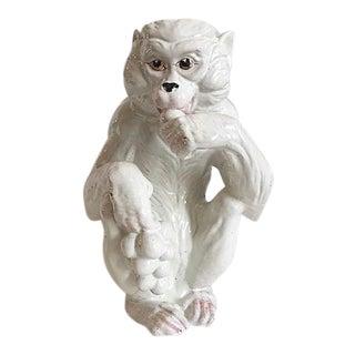 Italian Handmade Ceramic Monkey