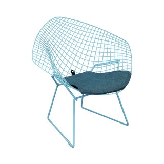 Harry Bertoia Knoll Vintage Diamond Lounge Chair