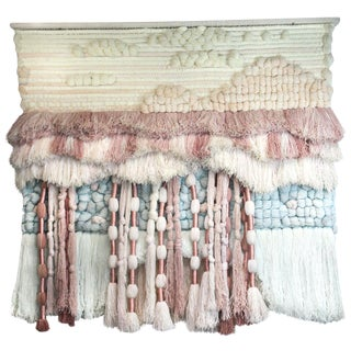 Substantial Hand-Loomed Wall Tapestry