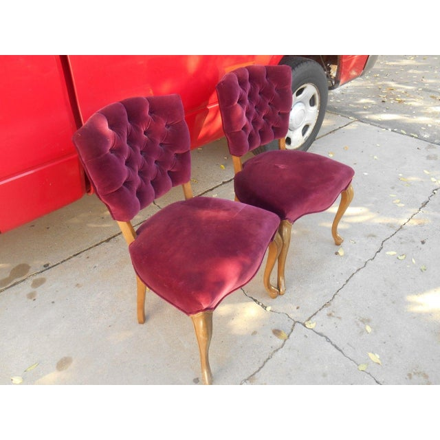 French Fireside Dining Chairs - A Pair - Image 2 of 8