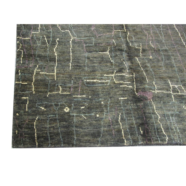 Image of Indian Natural Hemp Rug - 8′ × 9′10″