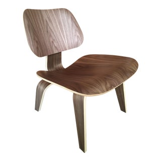 Eames Lcw in Walnut by Herman Miller