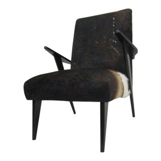 Pair of Italian 1950s Modernist Armchairs Attributed to Ico Parisi