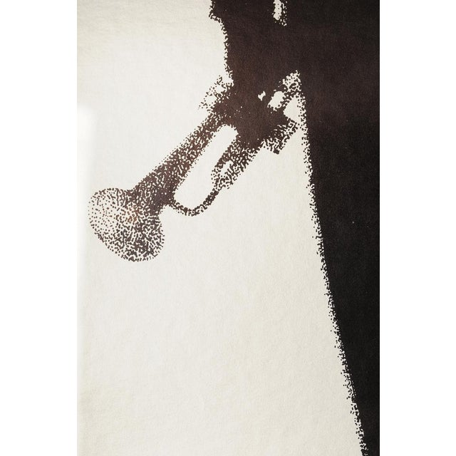 Study of Louis Armstrong, Original 1976 Poster - Image 6 of 10