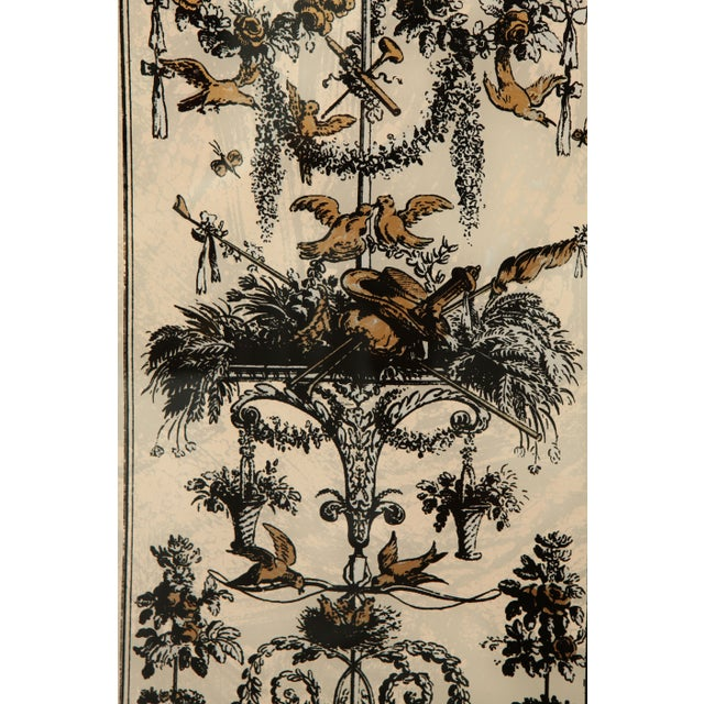 Vintage Reverse Painted French Panel - Image 5 of 7